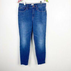 J Crew Lookout High Rise Skinny Womens Jeans Denim